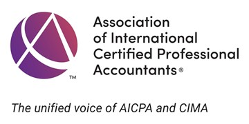 Logo for Association of International Certified Professional Accountants (AICPA)